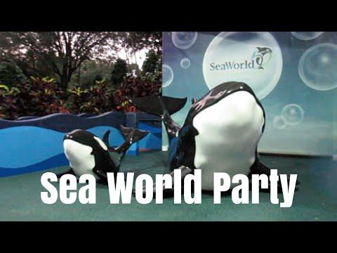 SEA WORLD ORLANDO PARTY