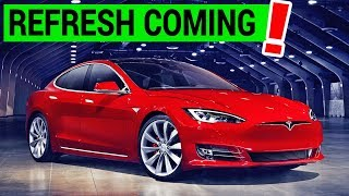 Tesla Model S Refresh Details Leaked