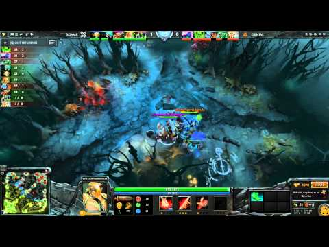 xGame vs Denial Game 1 Part 1 - ESL One New York EU Qual - @DotaCapitalist & @CWMDota