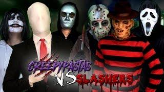 Creepypastas vs Slashers. Batalla Final de Rap (Especial Post-Halloween) | Keyblade