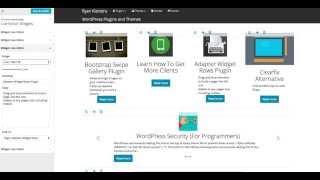 Widget Live Editor WordPress Plugin