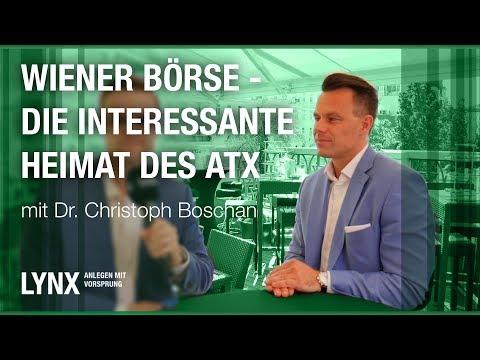 Wiener Börse -  Die interessante Heimat des ATX - Interview mit Christoph Boschan   LYNX fragt nach