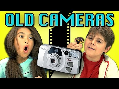 KIDS REACT TO OLD CAMERAS