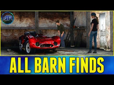Forza Horizon 2 : ALL BARN FINDS LOCATIONS AND CUTSCENES (Commentary, 1080p)
