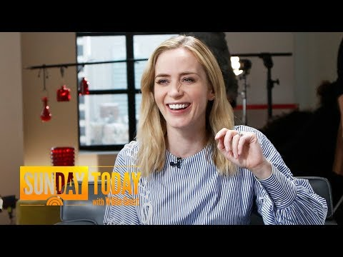 Emily Blunt Got 'Closer' To John Krasinski During 'A Quiet Place' | Sunday TODAY