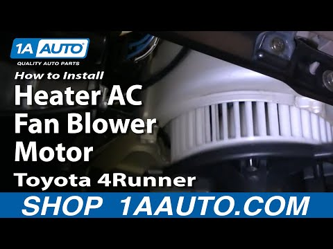 How To Install Replace Heater AC Fan Blower Motor Toyota 4Runner 96-02 1AAuto.co