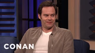 Jeff Bridges Gave Bill Hader Advice About Anxiety - CONAN on TBS
