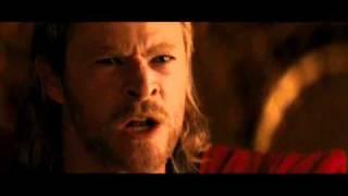 Conan le cambia la voz a Thor