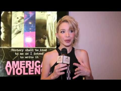 American Violence Red Carpet Premiere with Actress Katherine Castro