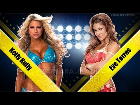 WWE 13: Kelly Kelly Vs Eve (Inferno)