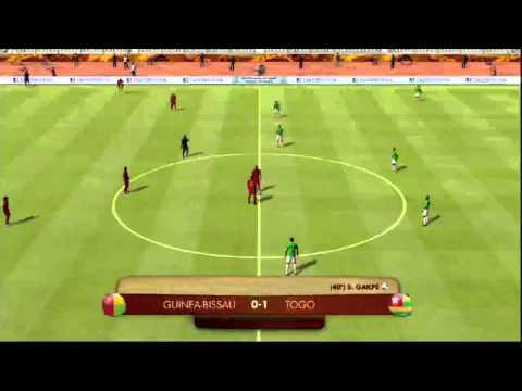 FIFA Digital World Cup 2014 Qualification: Guinea-Bissau - Togo