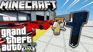 Minecraft GTA 5 - Tập 30   Đi Giao Siêu Xe Cho Đại Gia Giàu Nhất Thành Phố !!