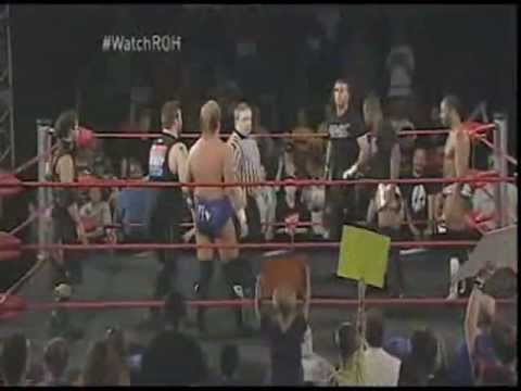 All Night Express & Jay Lethal vs Kevin Steen, Steve Corino, & Jimmy Jacobs