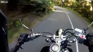horrible scary motorbike crash accident FAIL ,ZDERZENIE DWOCH MOTOROW