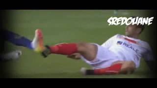 Ever Banega Red Card Barcelona 0 - 0 Sevilla 22/05/2016 copa-del-rey