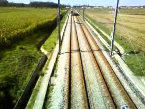 Metro do Porto - Linha B - Servi�o Expresso a passar em Modivas Sul