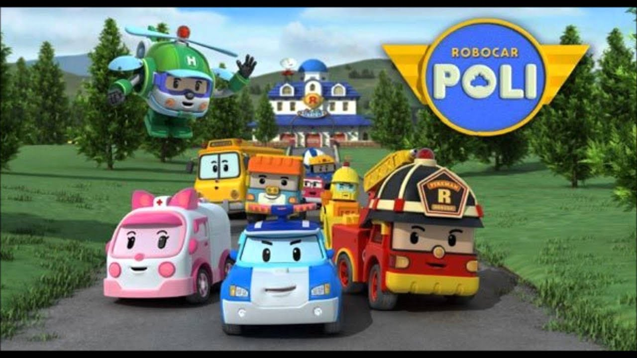 robocar poli musique de g n rique youtube. Black Bedroom Furniture Sets. Home Design Ideas