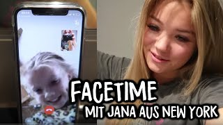 Facetimen mit Jana aus New York ❤️💔