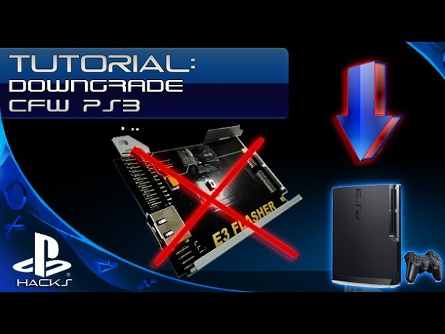 PS3 Rogero Downgrader For any CFW Back To 3.55. Unboxing Sony Playstation 3