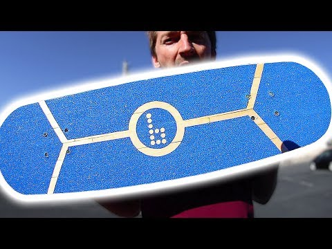 WILL THE POPSICLE CRAFT STICK BOARD SNAP?! | YOU MAKE IT WE SKATE IT EP 154