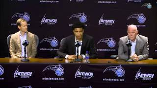 Chuma Okeke Introductory Press Conference Orlando Magic Rookie #16 NBA Draft Pick