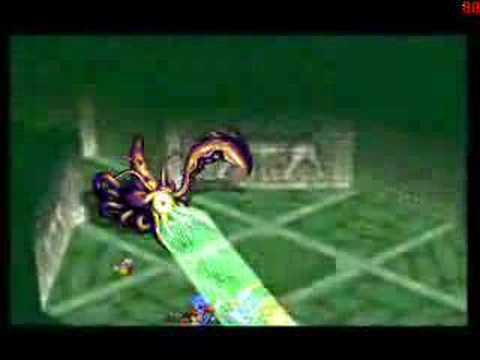 Grandia PSX Leviathan Optional Boss (part 1) Video