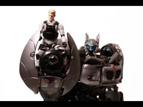 Transformers Movie HFTD Human Alliance Jazz with Captain Lennox Review