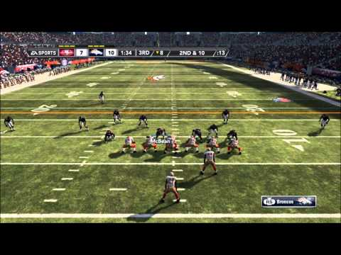 Madden 12- Tim Tebow Breakout Performance