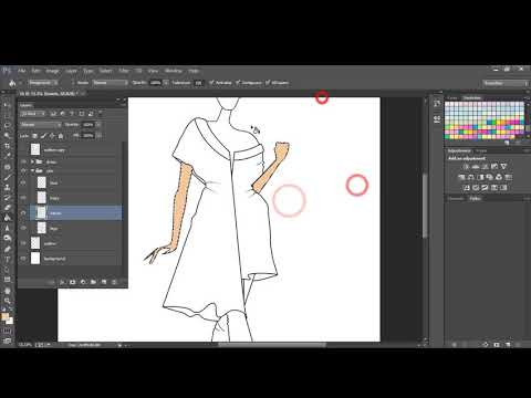 Fashion Illustration - Coloring Techniques Using Photoshop CC