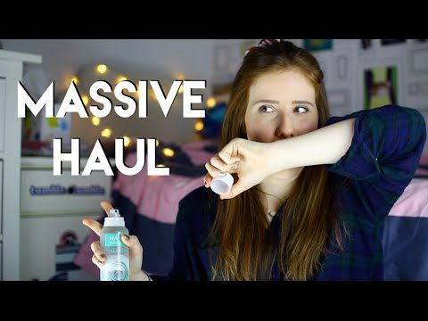 Massive Body & Skin Care and Fashion Try-On Haul 2015!