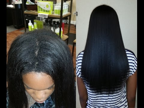 Japanese Straightening Thermal Reconditioning African