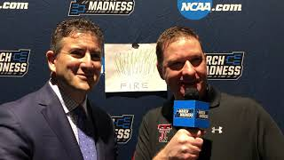Texas Tech's Chris Beard hosts National Championship edition of the 'Fireside Chat'