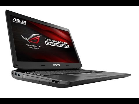ASUS ROG G750JM Kwings Gaming Laptop unboxing