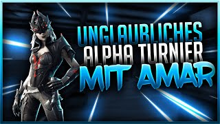 🏆😱UNGLAUBLICHES ALPHA TURNIER MIT AMAR | Fortnite Battle Royale