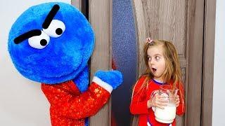 Learn Colors With Nursery Rhymes Song, Cookie man - Santa Clous