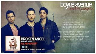 Boyce Avenue - Broken Angel (Official Song & Lyrics) on Apple & Spotify