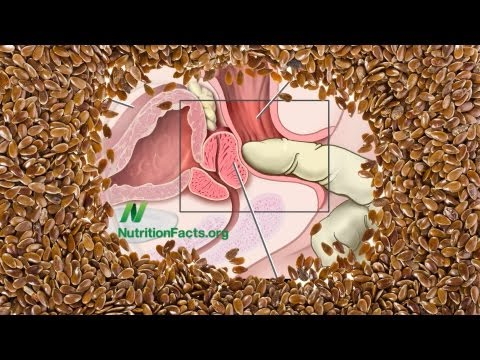 Flaxseed vs. Prostate Cancer | NutritionFacts.org