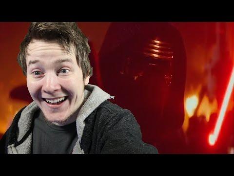Star Wars: The Force Awakens Live Trailer Reaction 2