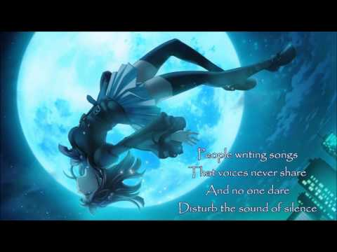 NIGHTCORE - The Sound of Silence (Disturbed) WITH LYRICS
