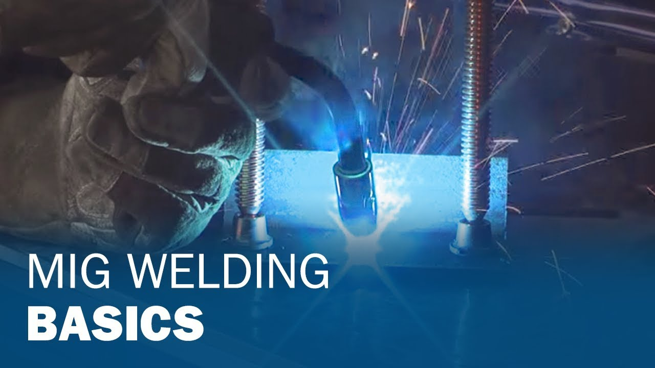 Miller Welding >> MIG Welding Basics for Farm and Automotive Repairs - YouTube