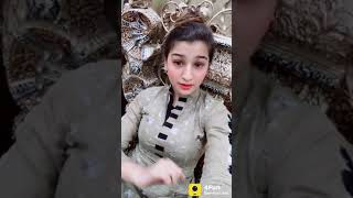 Girl acting on Funny songs whatsapp status videos
