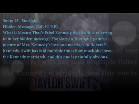 Taylor Swift Songs-(Hidden Messages and Meanings)