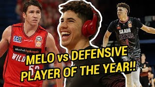 LaMelo Ball Goes At Australia's MOST FAMOUS Defender! Drops Near Double-Double Vs Defending CHAMPS