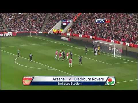 Arsenal 0 - 1 Blackburn Rovers official highlights and goals, FA Cup Fifth Round | FATV