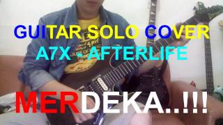 Avenged sevenfold - afterlife  guitar solo cover