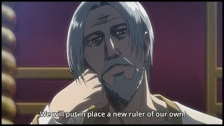 Erwin Starts Coup d'état Against the King | Attack on Titan Episode 42