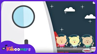 Zoom Zoom Zoom We're Going to The Moon Song | Rocket Song for Kids | Space Songs for Kids