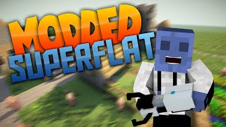 Minecraft Superflat - DAT GRIND! Ep. 10 (Modded Superflat)