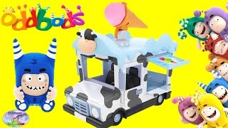 Oddbods Show Pogo Ice Cream Truck Blind Bag Figures Episode Surprise Egg and Toy Collector SETC