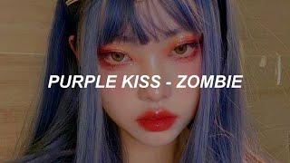 퍼플키스(PURPLE KISS) 'Zombie' Easy Lyrics